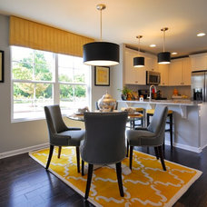 Transitional Dining Room by Beazer Homes