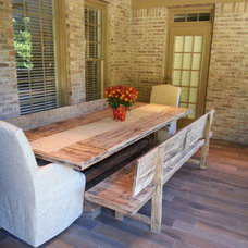 Rustic Patio by Rustic Trades Furniture
