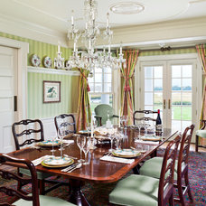 Traditional Dining Room by Eberlein Design Consultants