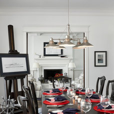 Traditional Dining Room by Cottage Company Interiors