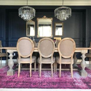 Новые идеи обустройства дома: столовая в стиле современная классика