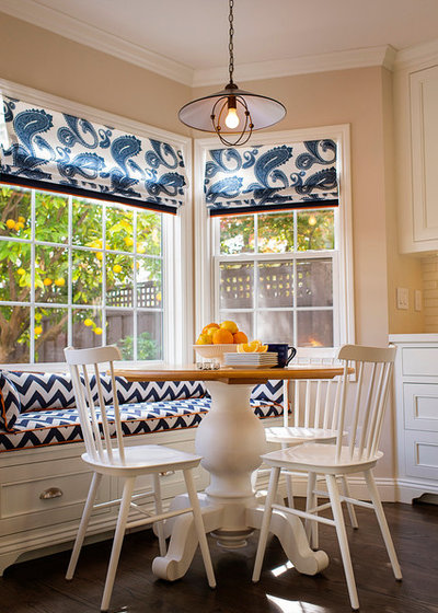 Traditional Dining Room by Julie Mifsud Interior Design
