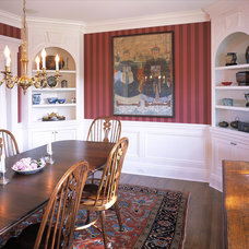 Traditional Dining Room by Cugno Architecture