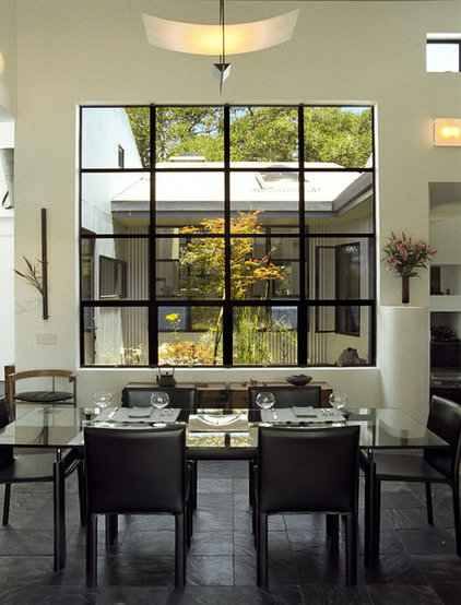 Contemporary Dining Room by House + House Architects