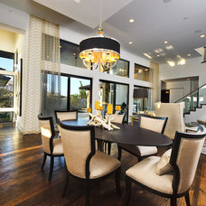 Transitional Dining Room by Hobbs' Ink