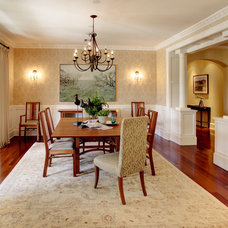Traditional Dining Room by Stephanie Wiley Photography