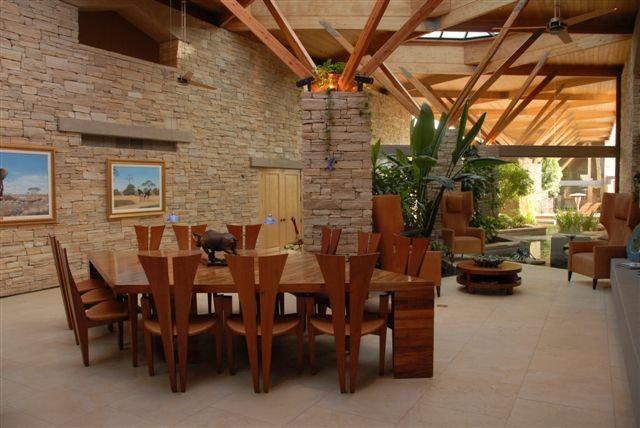 Contemporary Dining Room Nevada Home