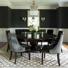 Contemporary Dining Room by Roughan Interior Design