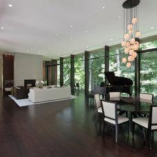 Modern Dining Room by Specht Harpman Architects
