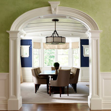 Traditional Dining Room by Michael Smith Architects