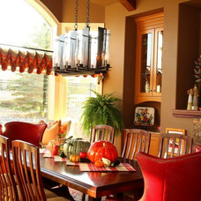 Traditional Dining Room by Awaken Interiors