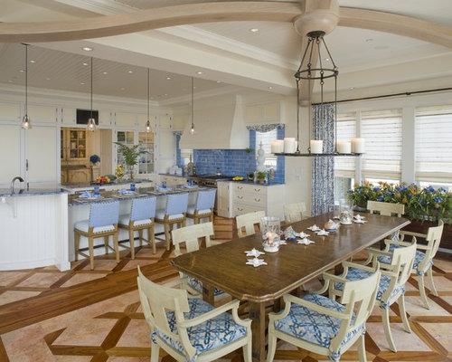 SaveEmail - Wood Tile Floor Combination Houzz