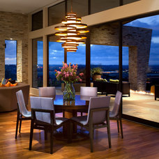 Contemporary Dining Room by Dawson Design Group
