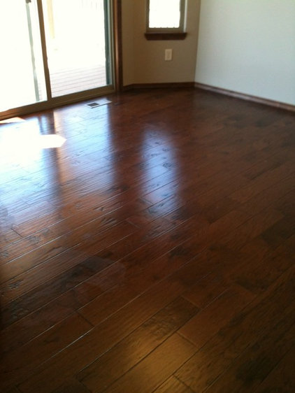 Traditional Dining Room by Design Consultant @ United Flooring Mills