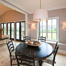 Contemporary Dining Room by Stacy Jacobi