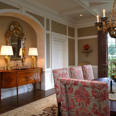 Traditional Dining Room by John Milner Architects, Inc.