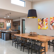 Contemporary Dining Room by Make Your House A Home