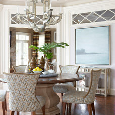 Traditional Dining Room by Douglas VanderHorn Architects