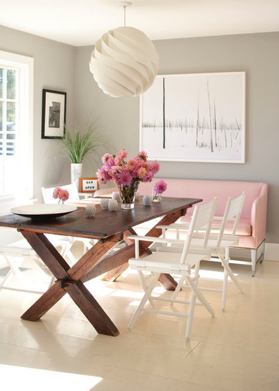 Contemporary Dining Room by Pierce Allen