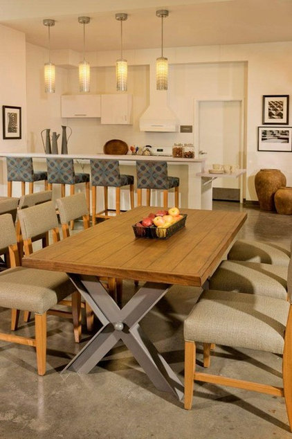 Contemporary Dining Room by Collaborative House