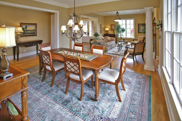 Traditional Dining Room by David Clark Construction, LLC