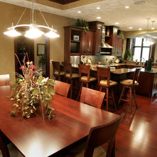 Traditional Dining Room by Richards Construction, Inc.