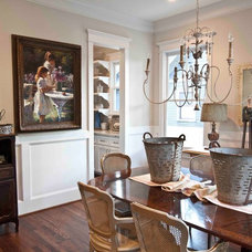 traditional dining room by Cedar Hill Interiors