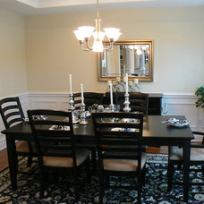 Modern Dining Room by Whitehall Interiors & Home Staging