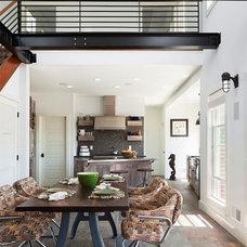 Contemporary Dining Room by Richard Bubnowski Design LLC