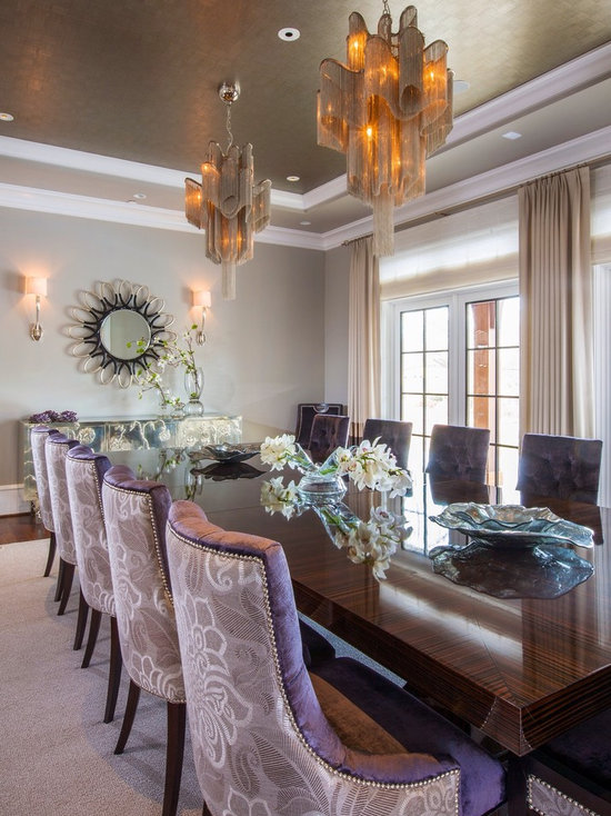 Best Purple Dining Room Chairs Gallery - Room Design Ideas ...