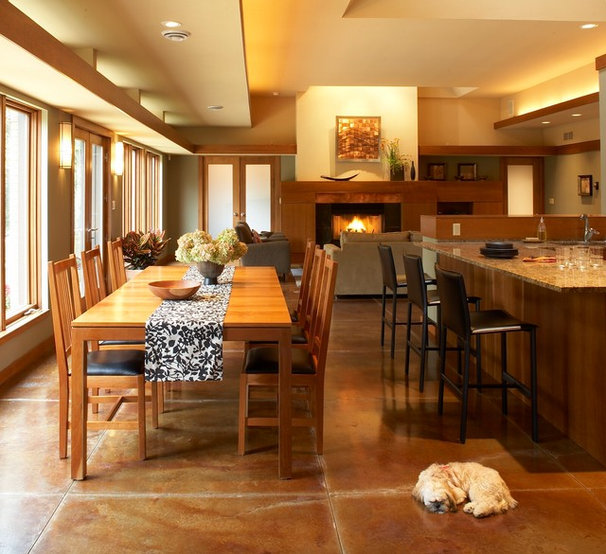 Modern Dining Room by Genesis Architecture, LLC.