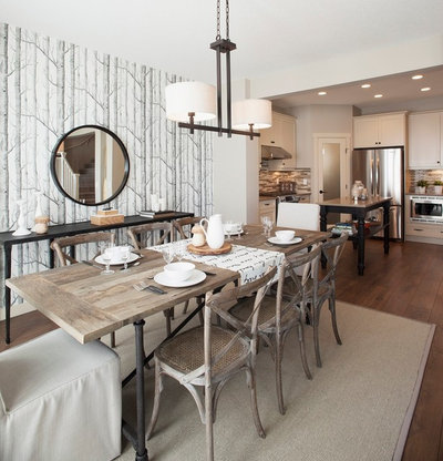 Fusion Dining Room by Sabal Homes