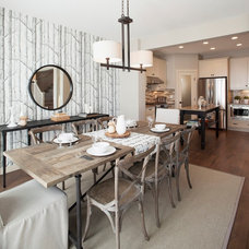 Transitional Dining Room by Sabal Homes
