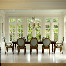 Beach Style Dining Room by Brooks and Falotico Associates, Inc.