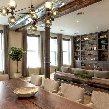 New York Bachelor Dining Room