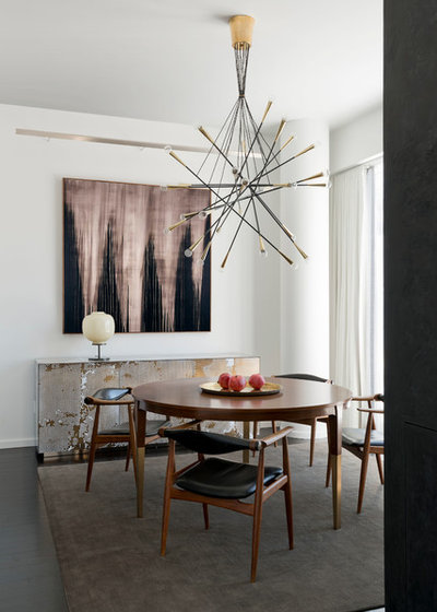 Contemporary Dining Room by Studio Hus