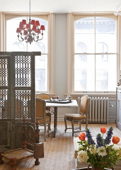 Victorian Dining Room by Deborah French Designs