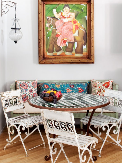 Tile Top Table   Houzz
