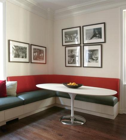 Contemporary Dining Room by Alan Design Studio