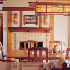 Traditional Dining Room by New Design Studios