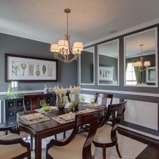 Traditional Dining Room by Newmark Homes