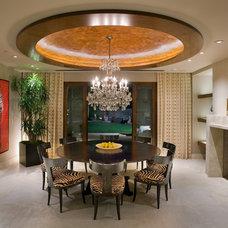 Contemporary Dining Room by David A. Kaech & Associates, Inc.
