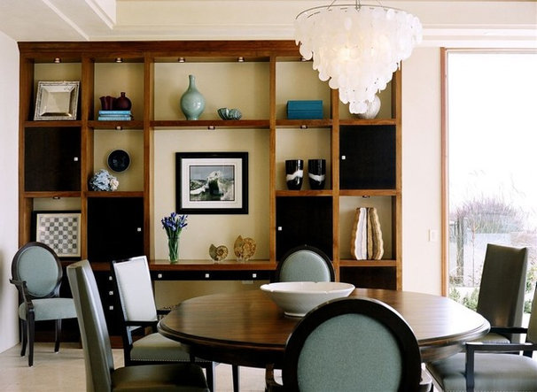 Contemporary Dining Room by Connie McCreight Interior Design