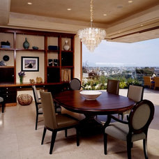 Modern Dining Room by Connie McCreight Interior Design