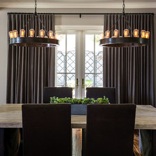 Traditional Dining Room by L Design Interiors