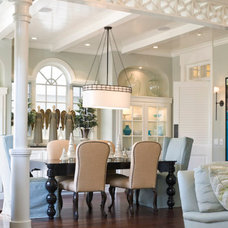 Traditional Dining Room by LUXE INTERIORS