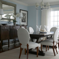 traditional dining room by Libby Langdon Interiors, Inc.