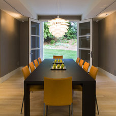 Contemporary Dining Room by Lloyd Architects