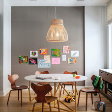 Contemporary Dining Room by wUNDERground