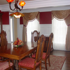 Eclectic Dining Room by Interior Remake by Elaine's Design